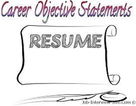 Whats a good objective statement for a resume